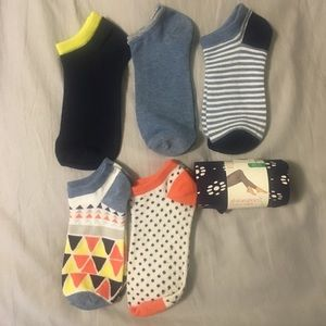 NEW (one with tags) sock lot+one footless tights